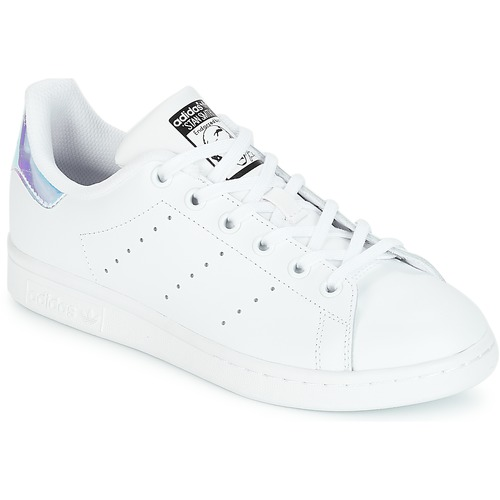 super popular 657e1 b8bf1 Scarpe Bambina Sneakers basse adidas Originals STAN SMITH J Bianco