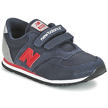 Scarpe Bambino Sneakers basse New Balance KE420 MARINE / Rosso