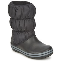 Scarpe Donna Sneakers basse Crocs WINTER PUFF BOOT Black / Charcoal
