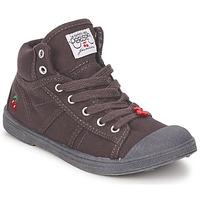 Scarpe Bambino Sneakers alte Le Temps des Cerises BASIC-03 KIDS Marrone