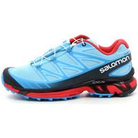 Scarpe Donna Running / Trail Salomon Wings Pro Bleu
