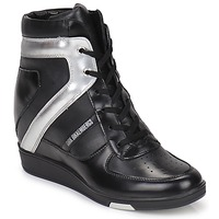Scarpe Donna Sneakers alte Bikkembergs JODIE 2 Black