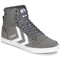 Scarpe Sneakers alte Hummel TEN STAR HIGH Grigio / Bianco
