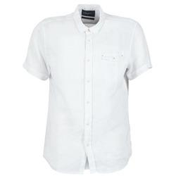 Abbigliamento Uomo Camicie maniche corte Chevignon C-LINEN Bianco
