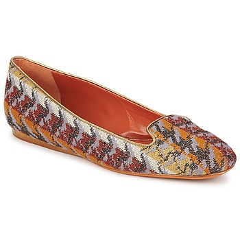 Scarpe Donna Mocassini Missoni WM004 Multicolore