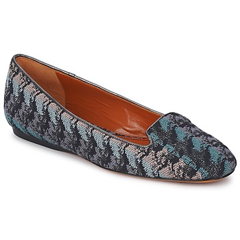 Scarpe Donna Mocassini Missoni WM004 Blu