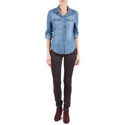 Abbigliamento Donna Jeans slim Replay LUZ Viola