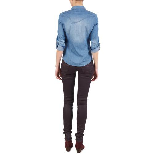 Abbigliamento Luz 8300 Replay Gratuita Jeans Slim Viola Consegna Donna qSpULzMVG