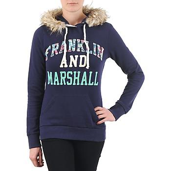 Abbigliamento Donna Felpe Franklin & Marshall COWICHAN Marine