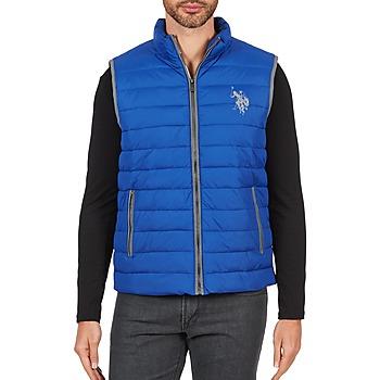 Abbigliamento Uomo Piumini U.S Polo Assn. USPA 1890 Blu