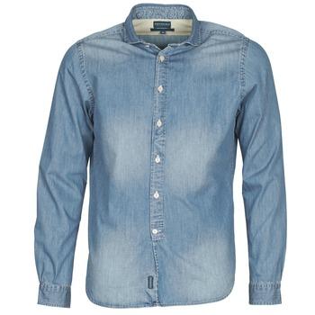 Abbigliamento Uomo Camicie maniche lunghe Façonnable PLUSAMO Blu