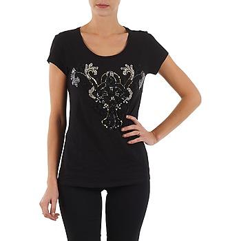 Abbigliamento Donna T-shirt maniche corte S.Oliver T-SHIRT MANCHES COUR Nero