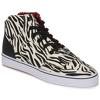 Scarpe Donna Sneakers alte Creative Recreation W CESARIO XVI M Zebra