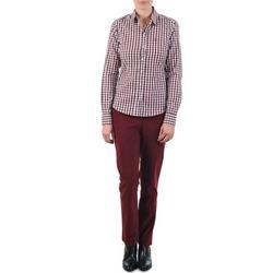 Abbigliamento Donna Chino Gant C. COIN POCKET CHINO Bordeaux