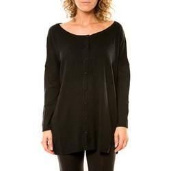 Abbigliamento Donna Gilet / Cardigan Vision De Reve Vision de Rêve Gilet 12026 Noir Nero