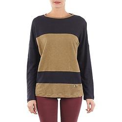 Abbigliamento Donna T-shirts a maniche lunghe TBS POOL Blu / Beige