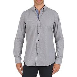 Abbigliamento Uomo Camicie maniche lunghe Hackett MEDALLION MULTI BD Blu