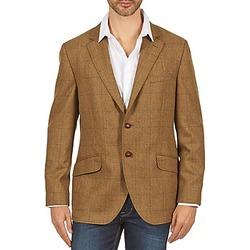 Abbigliamento Uomo Giacche / Blazer Hackett TWEED WPANE Marrone