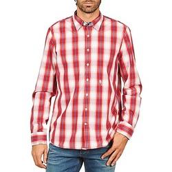 Abbigliamento Uomo Camicie maniche lunghe Gaastra ECHO SOUNDING Rosso