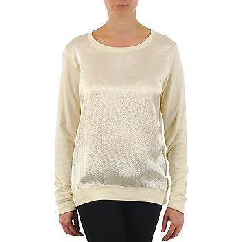 Abbigliamento Donna T-shirts a maniche lunghe Majestic 237 ECRU