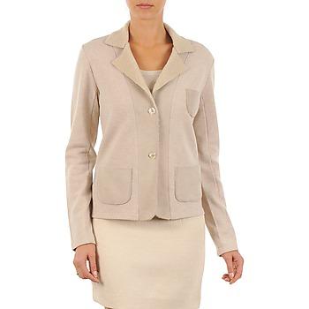 Abbigliamento Donna Giacche / Blazer Majestic 244 Beige