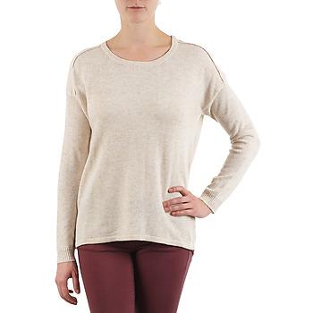 Abbigliamento Donna Maglioni Color Block 3265194 Beige