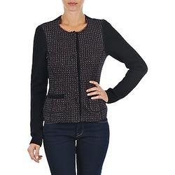 Abbigliamento Donna Gilet / Cardigan Marc O'Polo FANNIE Nero