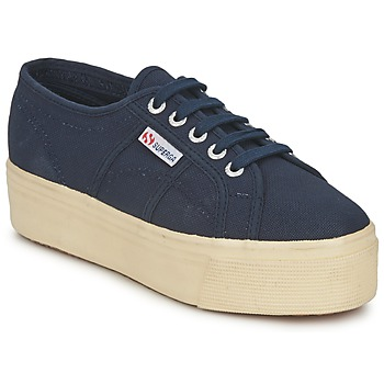 Scarpe Donna Sneakers basse Superga 2790 LINEA UP AND Marine