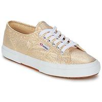 Scarpe Donna Sneakers basse Superga 2751 LAMEW Oro
