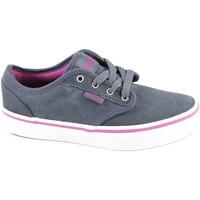 Scarpe Bambino Sneakers basse Vans ATWOOD ZUSGL2 obbre bl scarpe ragazza unisex sneakers tessuto Blu