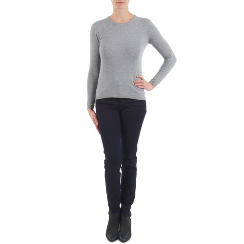 Abbigliamento Donna Jeans slim 7 for all Mankind GUMMY Nero