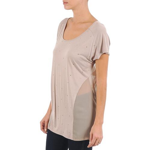shirt Corte City Mc La Beige T Maniche 1cF3lTKJ