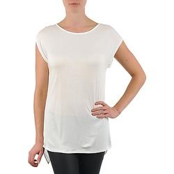 Abbigliamento Donna T-shirt maniche corte La City TS CROIS D6 Bianco