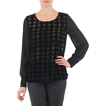 Abbigliamento Donna Top / Blusa La City ML FLOCK P Nero