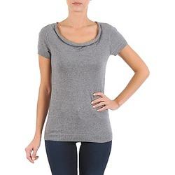 Abbigliamento Donna T-shirt maniche corte La City PULL COL BEB Grigio