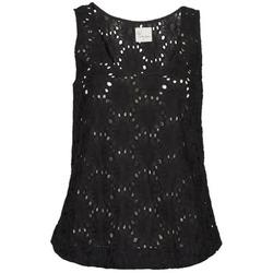 Abbigliamento Donna Top / T-shirt senza maniche Stella Forest ADE007 Nero