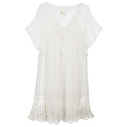 Abbigliamento Donna Abiti corti Stella Forest ARO035 Ecru