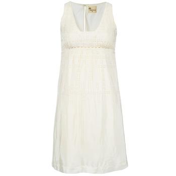 Abbigliamento Donna Abiti corti Stella Forest ARO015 Ecru