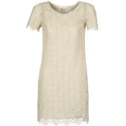 Abbigliamento Donna Abiti corti Stella Forest ARO051 Ecru / Dore
