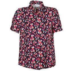 Abbigliamento Donna Camicie maniche corte American Retro NEOSHIRT Nero / Rosa / Arancio