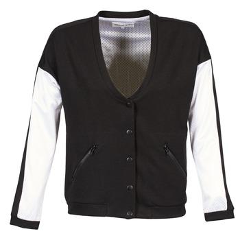 Abbigliamento Donna Giubbotti American Retro CHARONNE Nero / Bianco