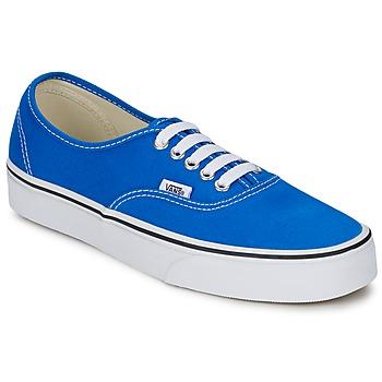 Scarpe Sneakers basse Vans AUTHENTIC Blu / Bianco