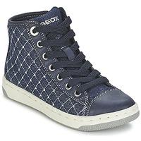 Scarpe Bambina Sneakers alte Geox CREAMY B Marine