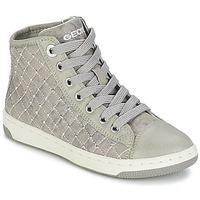 Scarpe Bambina Sneakers alte Geox CREAMY B Grigio