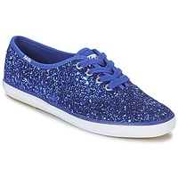 Scarpe Donna Sneakers basse Keds CHAMPION GLITTER Blu