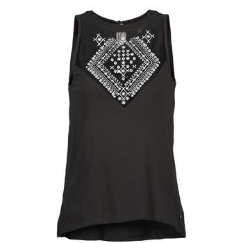 Abbigliamento Donna Top / T-shirt senza maniche Element ROSANA Nero