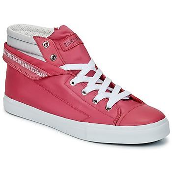 Scarpe Donna Sneakers alte Bikkembergs PLUS 647 PINK / GRIGIO