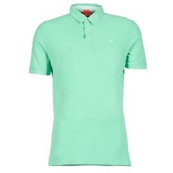 Abbigliamento Uomo Polo maniche corte Vicomte A. GARMENT DYE Verde