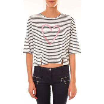 Abbigliamento Donna T-shirt maniche corte Coquelicot Top 15404/209 marin Blu