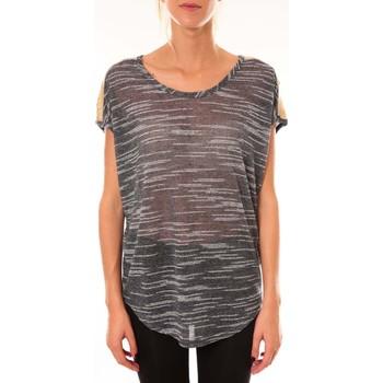 Abbigliamento Donna Top / Blusa Dress Code Top à sequins R5523 marine Blu
